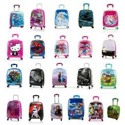 Kids Hard Side Carry-on Spinner Luggage Case for Boys/Girls