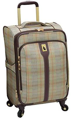 "$220 New London Fog Knightsbridge 21"" Carry-On Spinner Suitc"