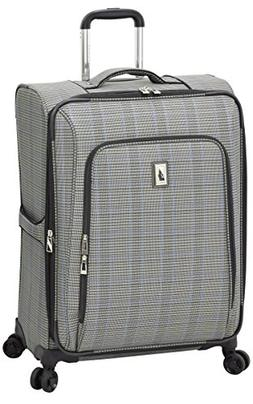 "London Fog Knightsbridge II 25"" Expandable Spinner, Grey Sap"