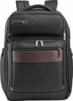 Samsonite Kombi Large Backpack, Black/Brown