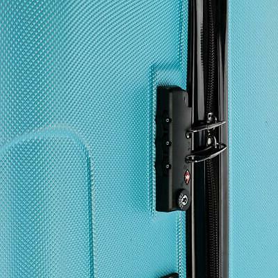 20 24 3pcs Luggage ABS Trolley Suitcase w/TSA