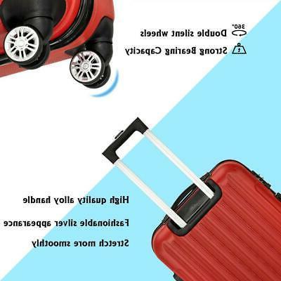 20 24 Luggage Set ABS Trolley Suitcase w/TSA lock