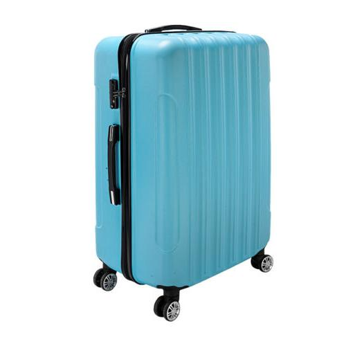 20 Luggage Travel Set ABS Shell Suitcase