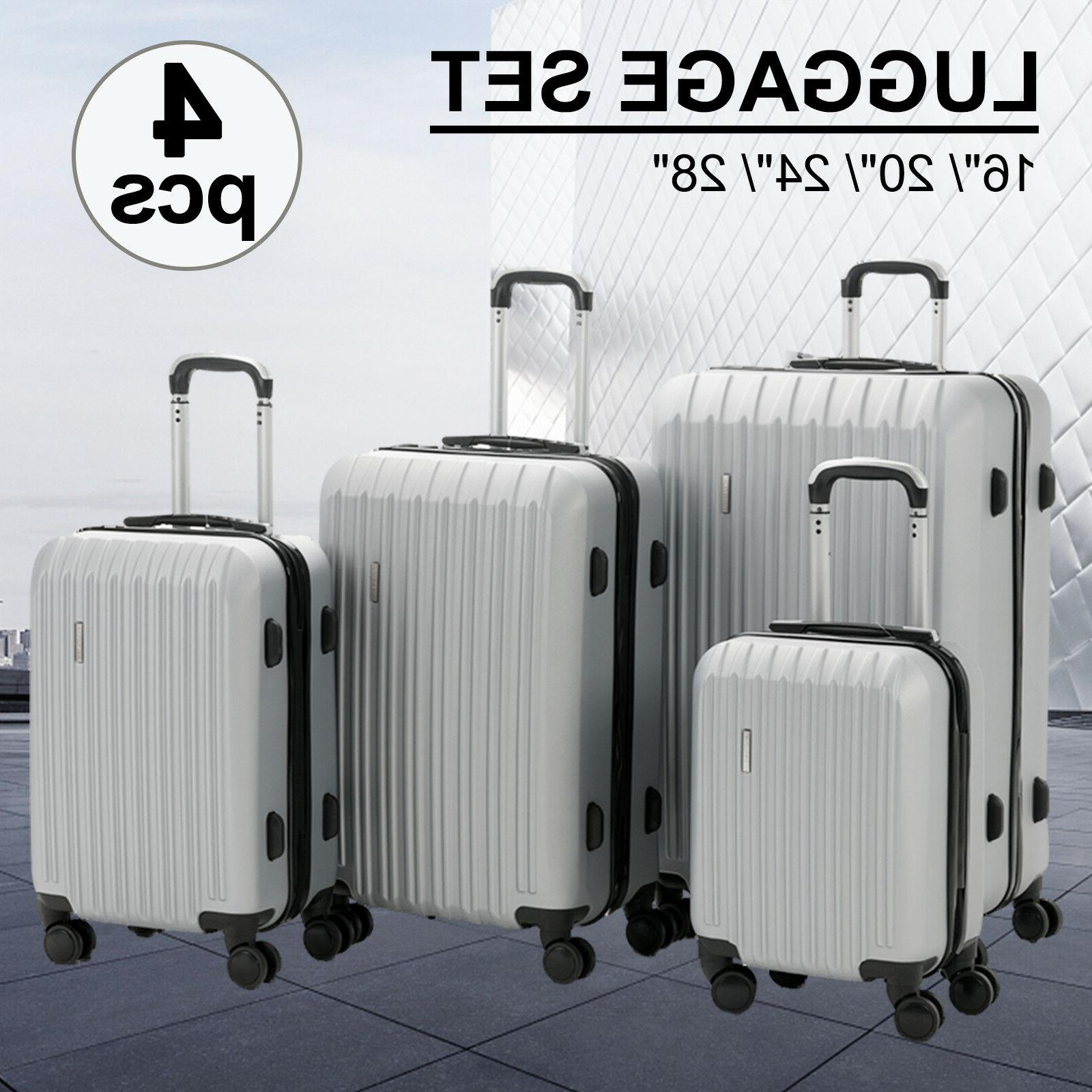 "16/20/24/28"" Luggage Travel with Trolley Carry On Suitcase"