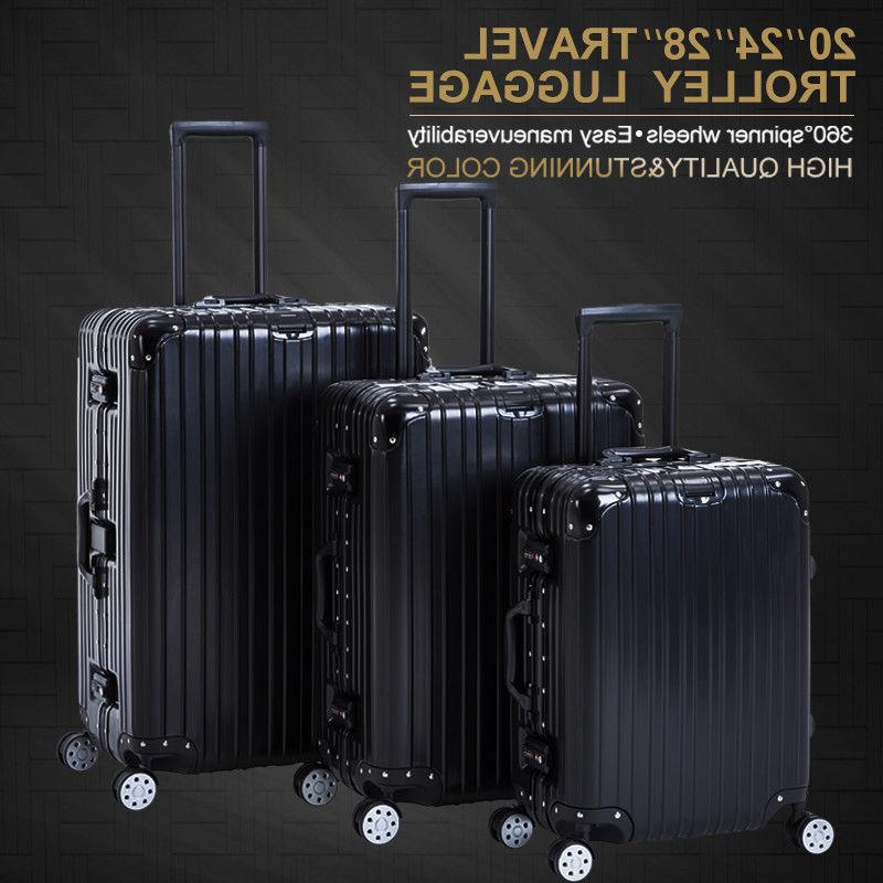 "16/20/24/28"" Luggage with Wheels Suitcase"