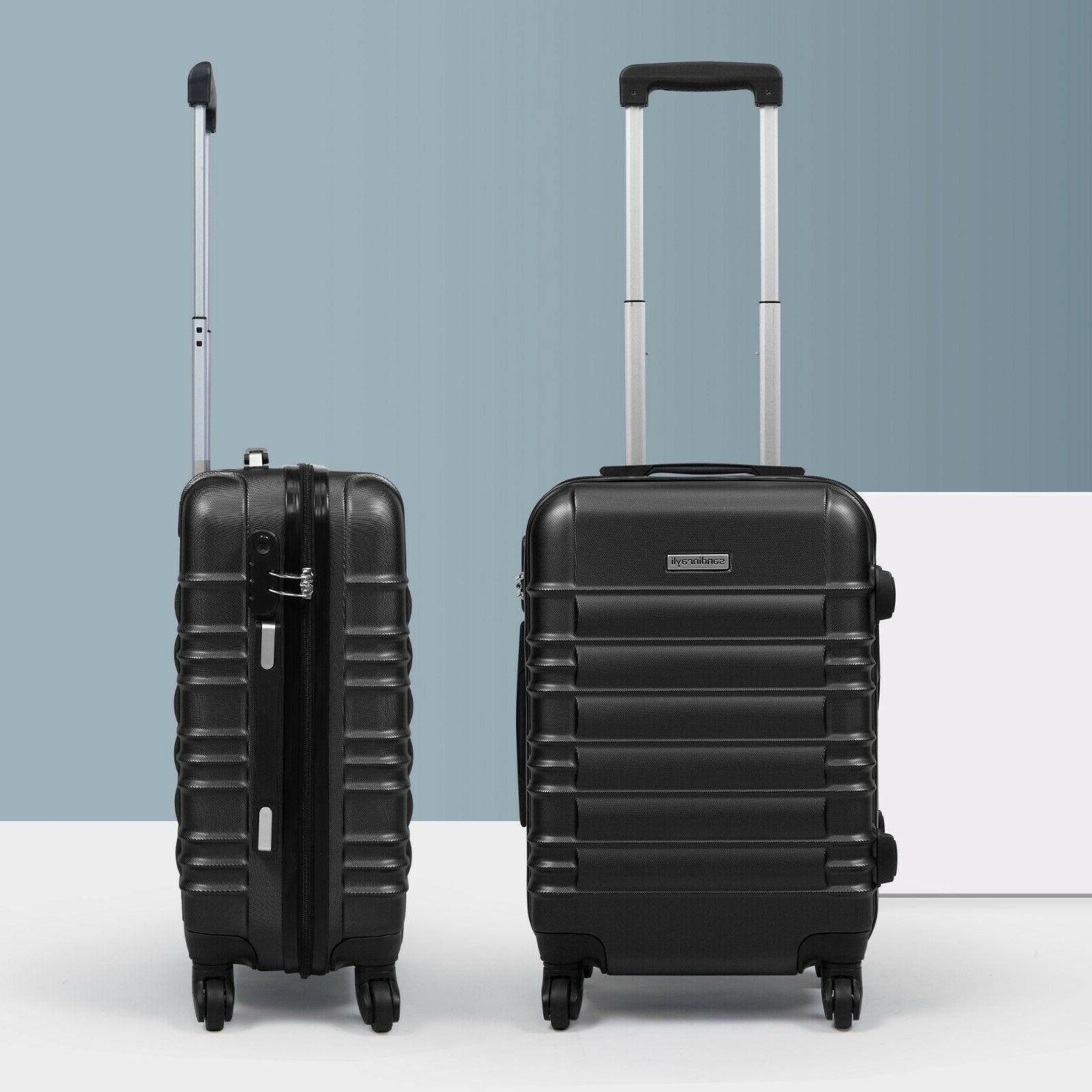20 abs carry on luggage travel bag