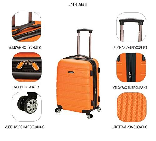 Rockland Luggage 20 The Bullet II Hardside Carry-On