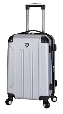20 Inch Hardside Expandable Carry On Luggage Travel Bag Spin
