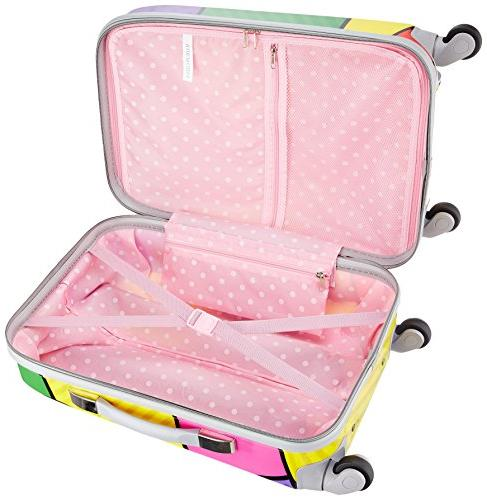Rockland POLYCARBONATE CARRY ON - F151-HEART