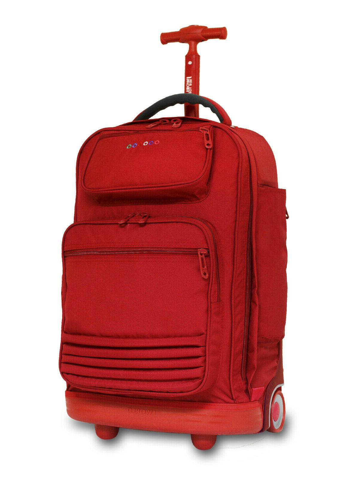 21 rolling laptop backpack business travel carry