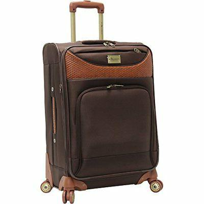 Caribbean Joe 24 Inch 8 Wheel Spinner, Chocolate Brown, One