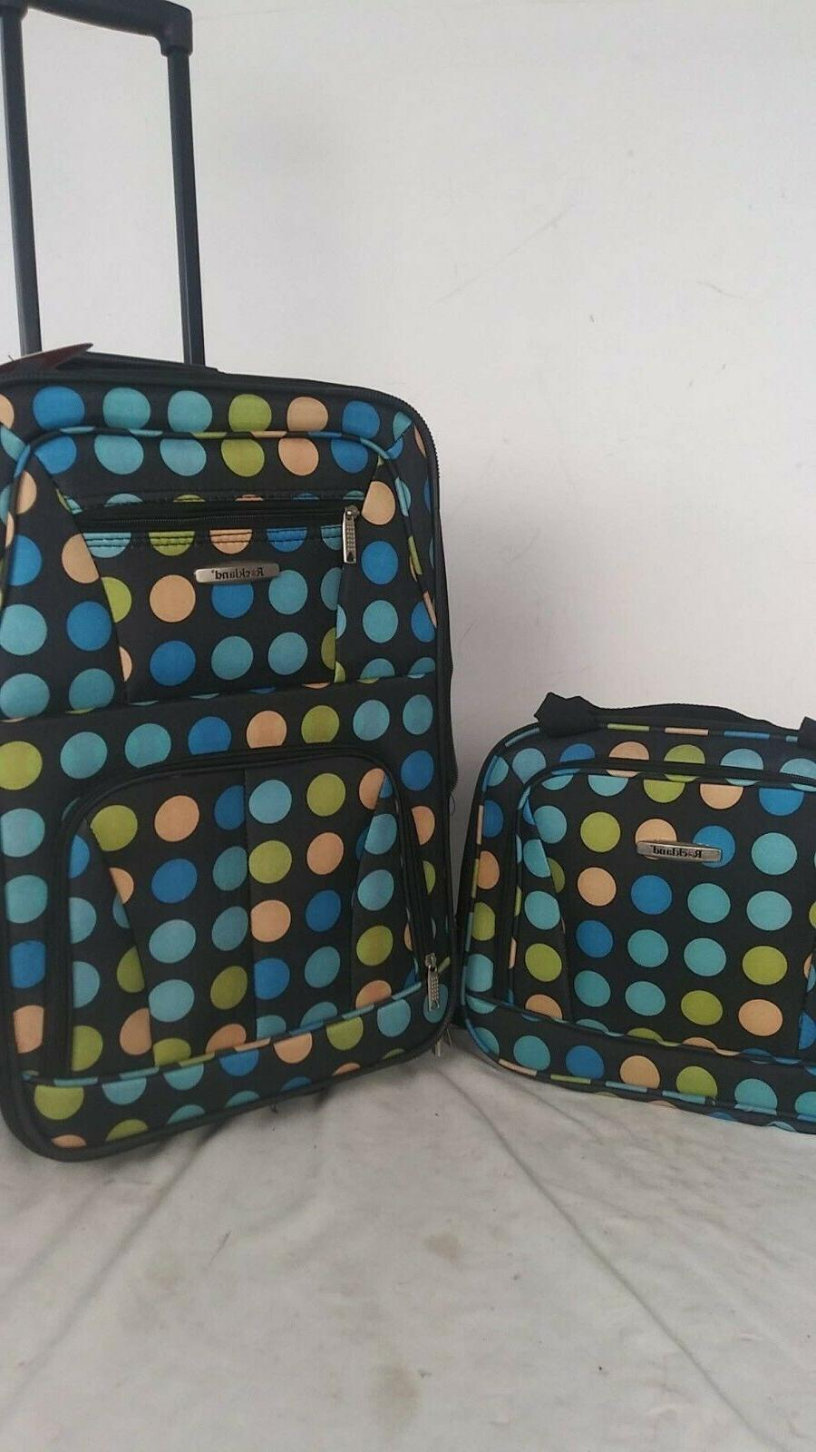 240 new 2 piece carry on luggage