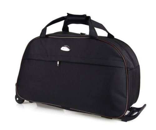 24inch rolling duffle bag wheeled tote luggage
