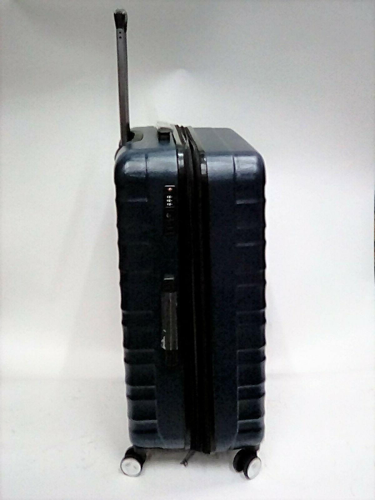 AmazonBasics Premium Spinner Luggage Suitcase,