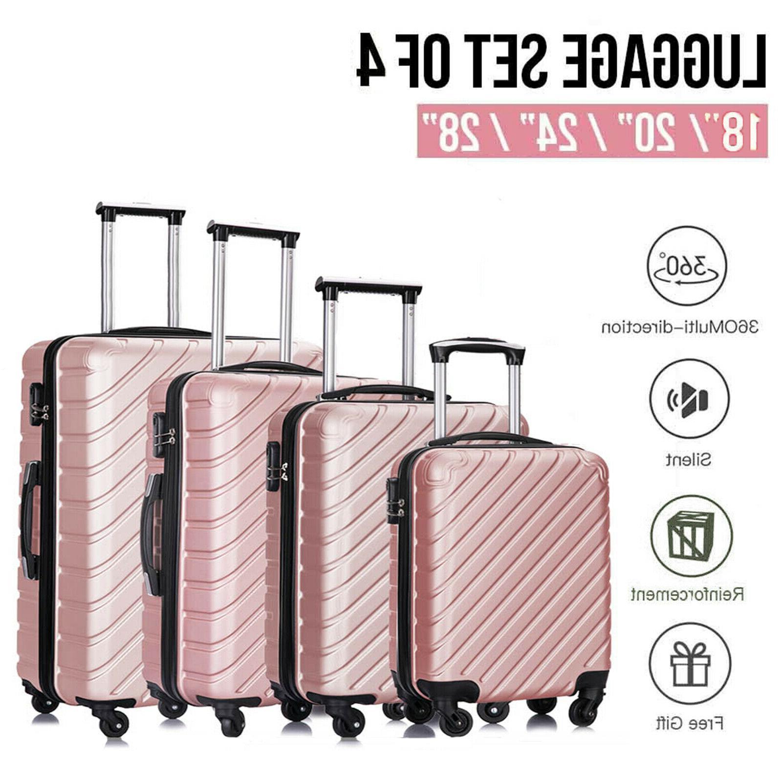 3/4 piece Luggage Set Hardcase ABS Spinner