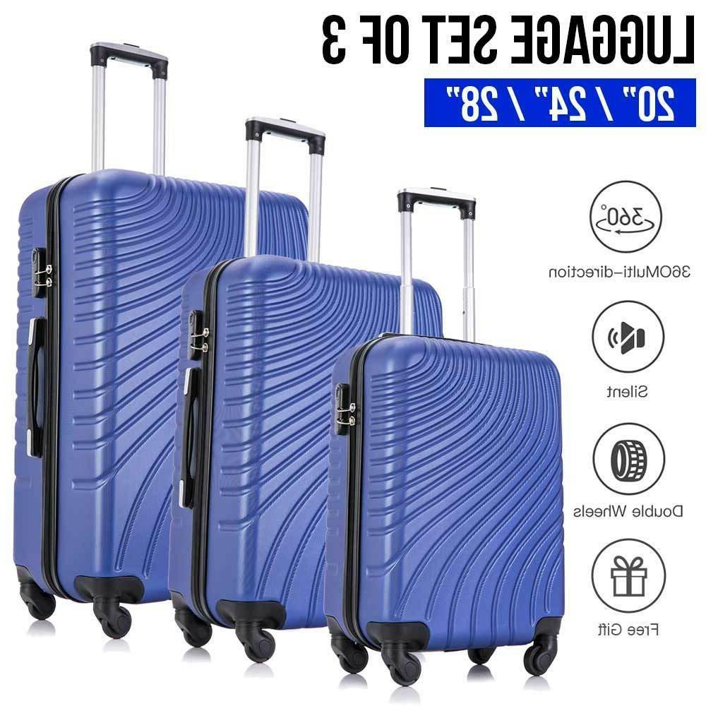 3/4 piece Multi-Type Travel Luggage Set Spinner