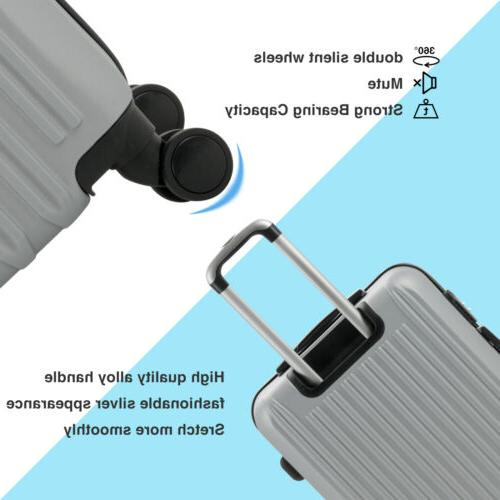 "3/4PCS Set ABS Luggage w/Lock 16""- 4OPTS"