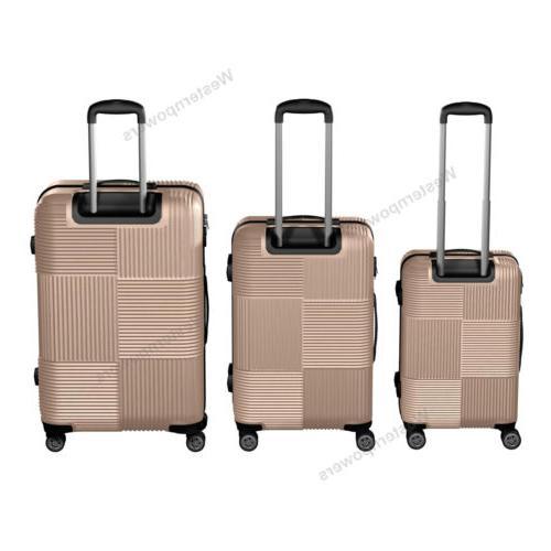 3-Piece Hardside Luggage Set 20''