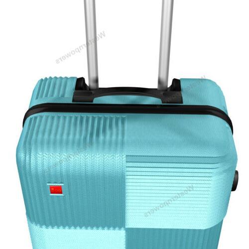 3-Piece Hardside Luggage with 20''