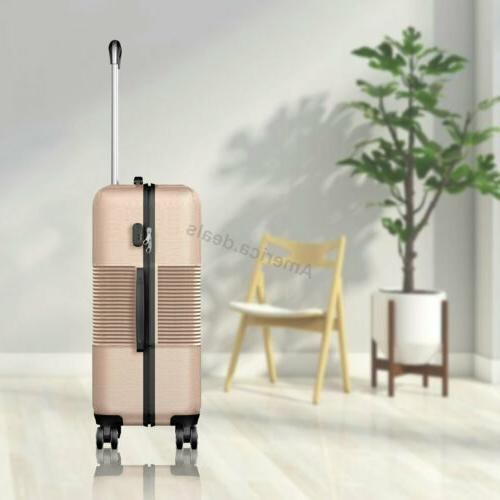 "3 Luggage Lightweight Spinner Suitcase 28"""