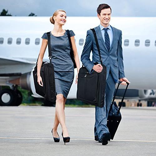 ZEGUR Suit Carry Garment Bag & Shoulder Strap