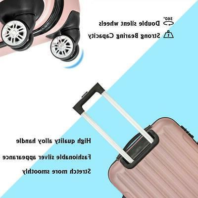 3PCS Luggage Bag Spinner Suitcase