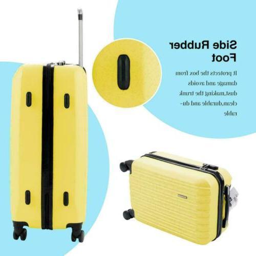 3Pcs Bag ABS Suitcase 20 24 28