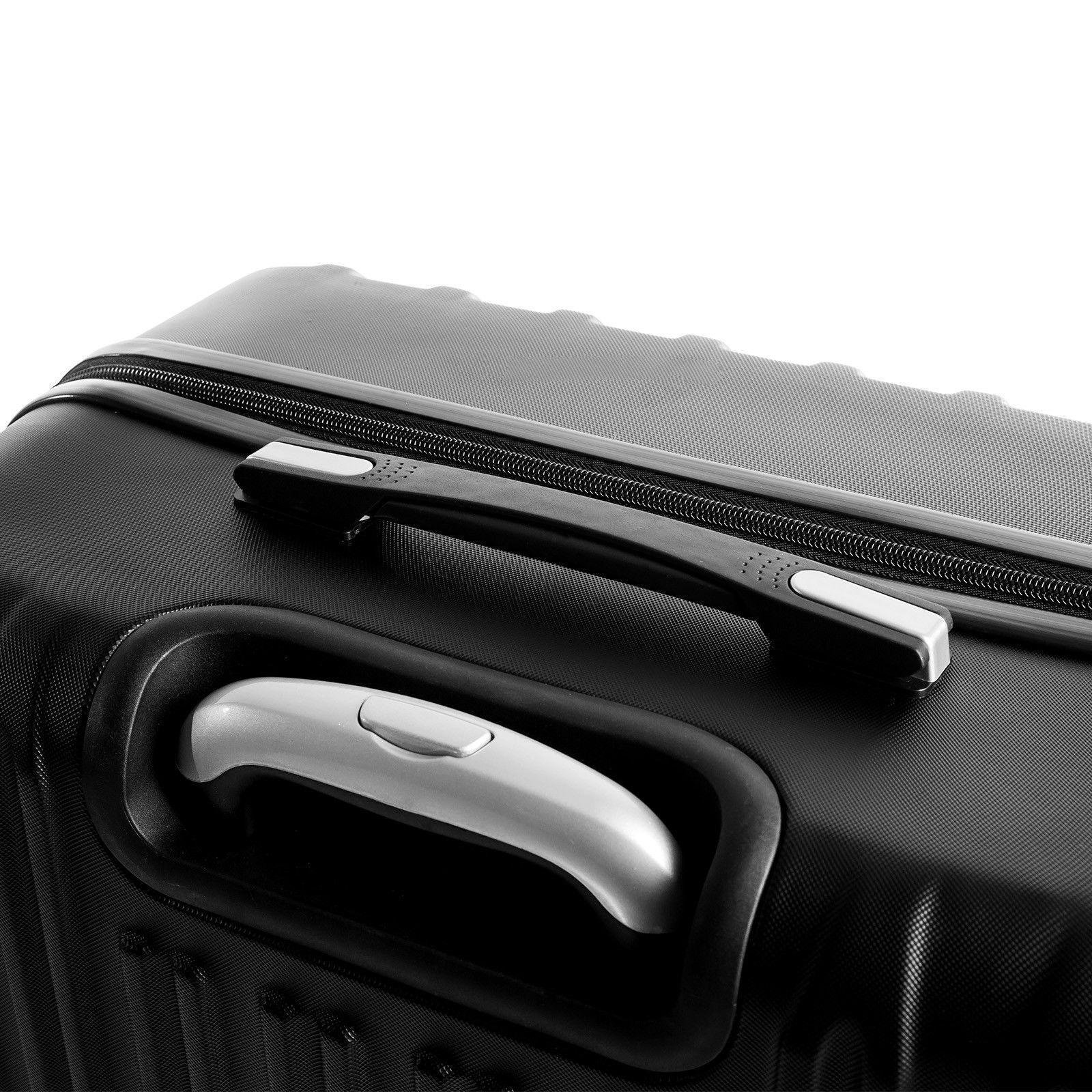 4 Piece Luggage Set Hardshell Suitcase