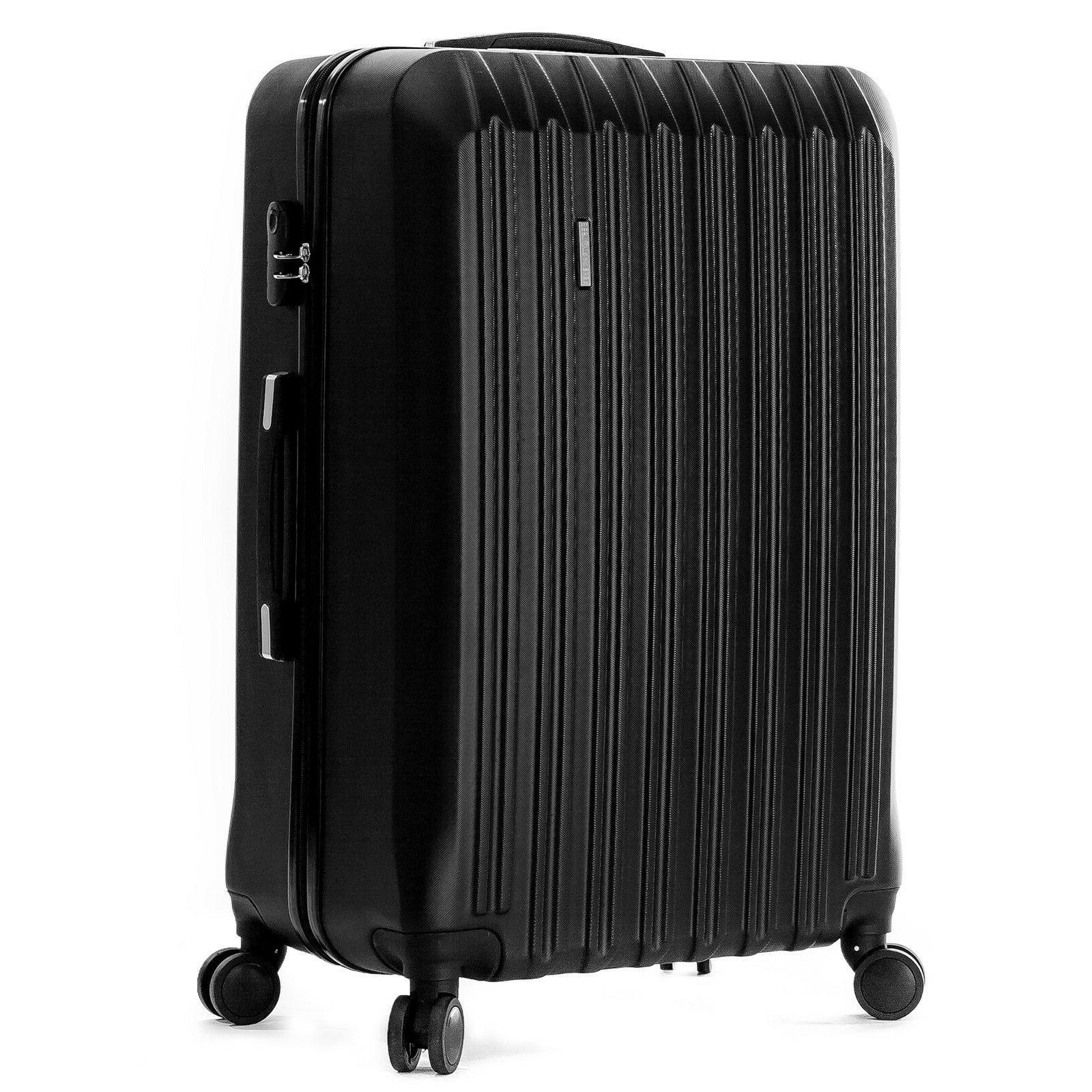 4 Piece Set Light Travel Hardshell Suitcase