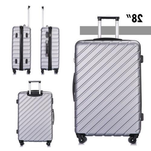 4 Piece Travel Set Hardshell Case