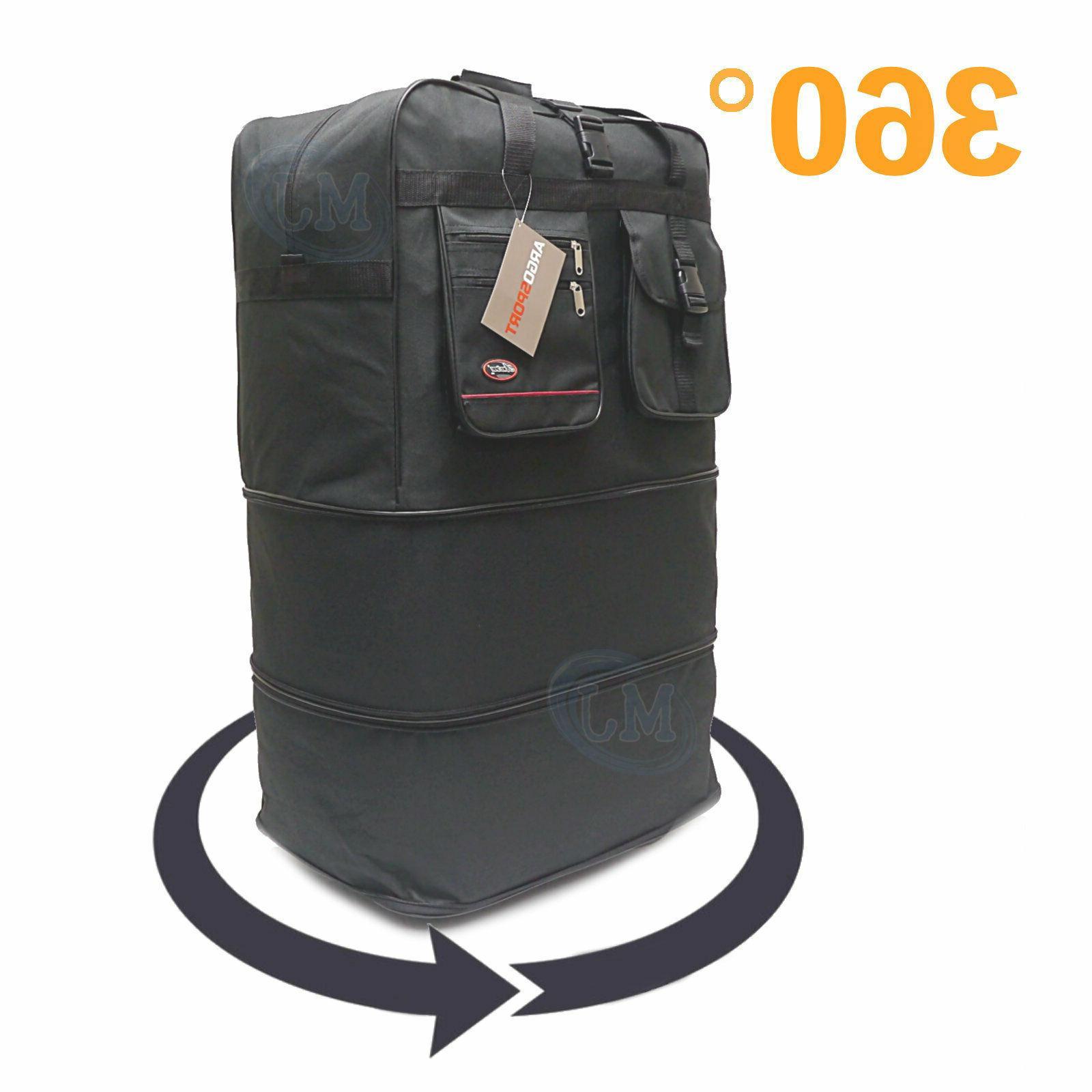 "40"" Expandable Luggage Wheeled Bag USA"