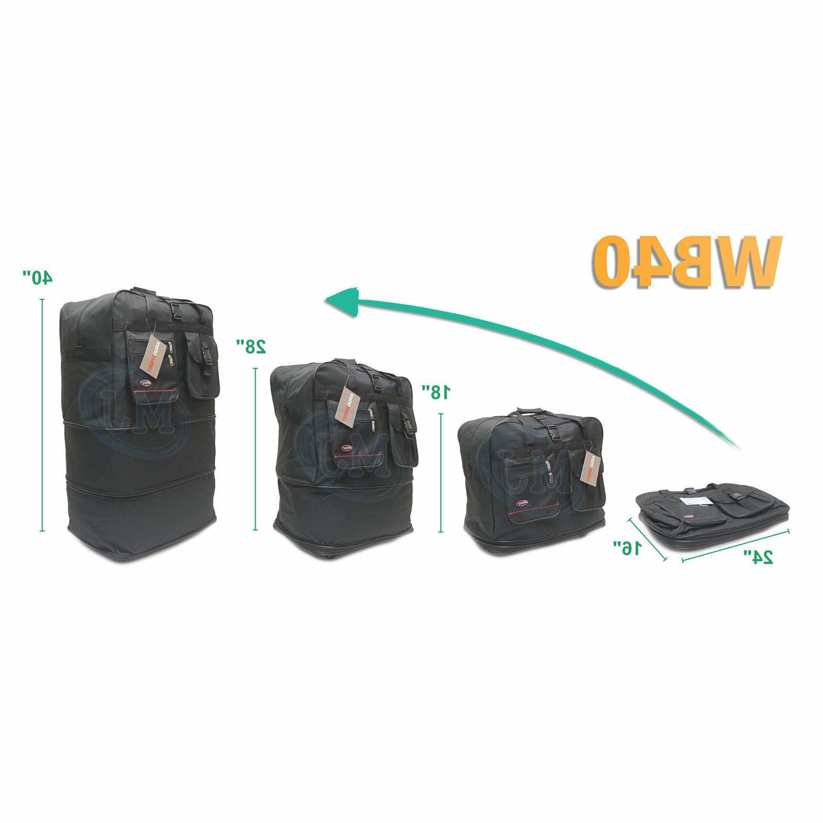 """40"""" Spinner Luggage Bag USA"""