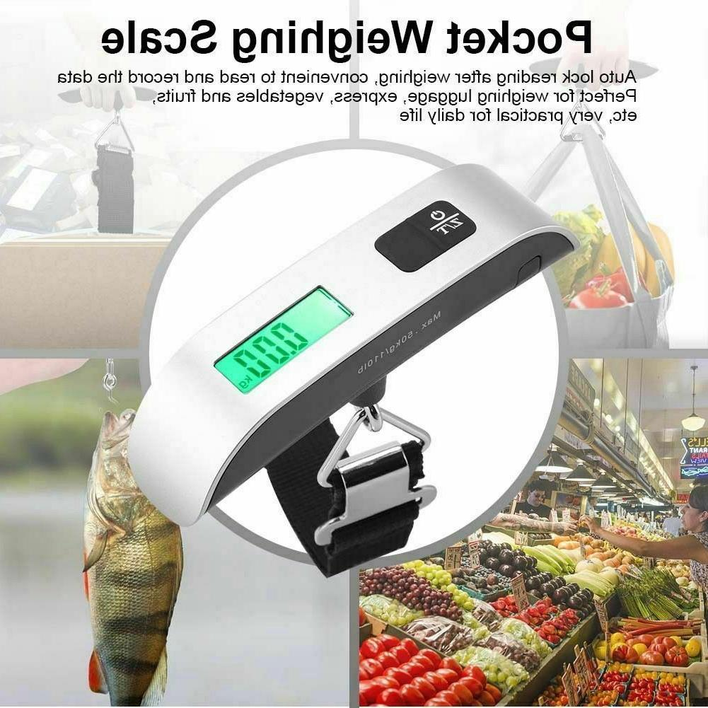 50kg/10g Portable Digital Luggage Scale Electronic Weight