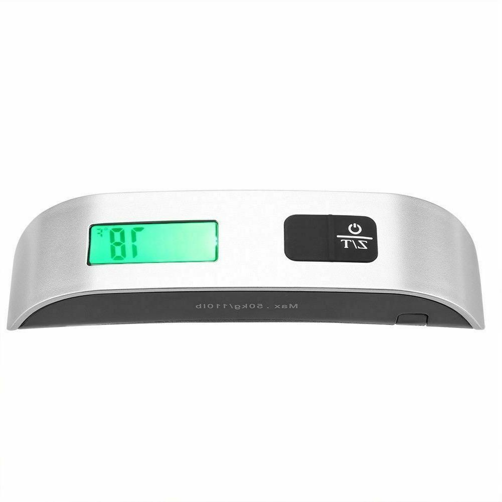 50kg/10g Travel LCD Digital Electronic Weight US