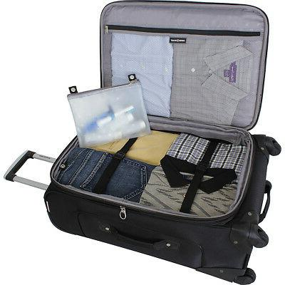 """SwissGear Travel 6283 25"""" 6 Colors Softside Checked NEW"""