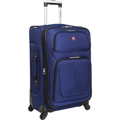 6283 25 spinner luggage 6 colors softside