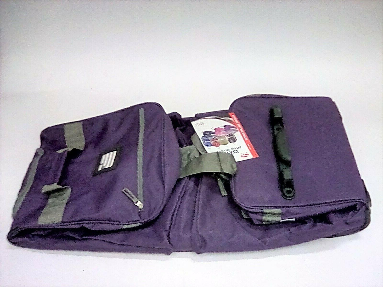 "Olympia 29"" 8 Pocket Sports Cargo Travel Rolling Duffel Carr"