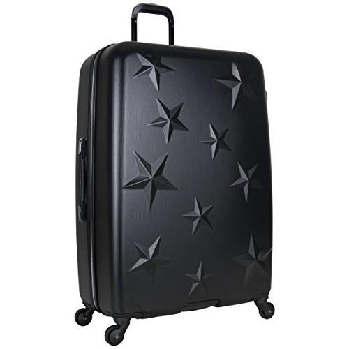 "Aimee Journey Hardside 4-Wheel 3-Piece Luggage 20"" Carry-on, 24"", 28"","