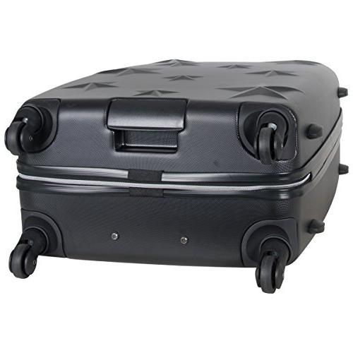 """Aimee Journey Hardside Luggage 24"""", 28"""", Black"""