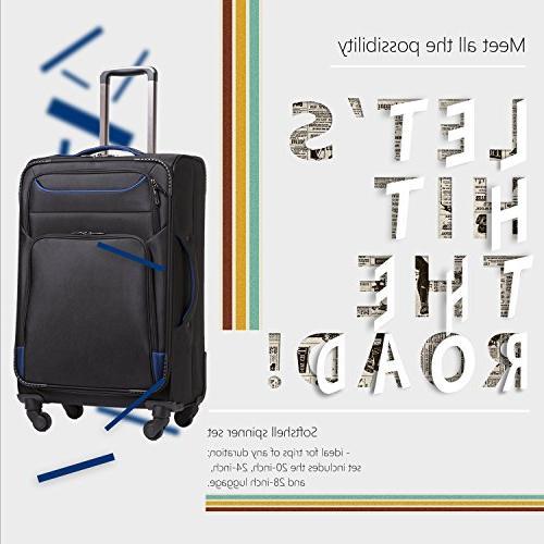 Coolife Luggage Set lightweight