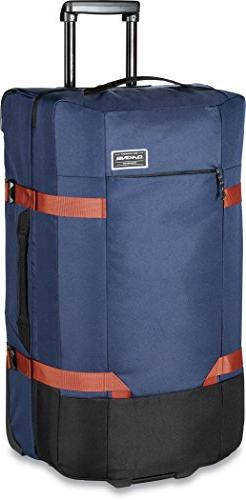 Dakine Split Roller Luggage Bag, 75l, Dark Navy