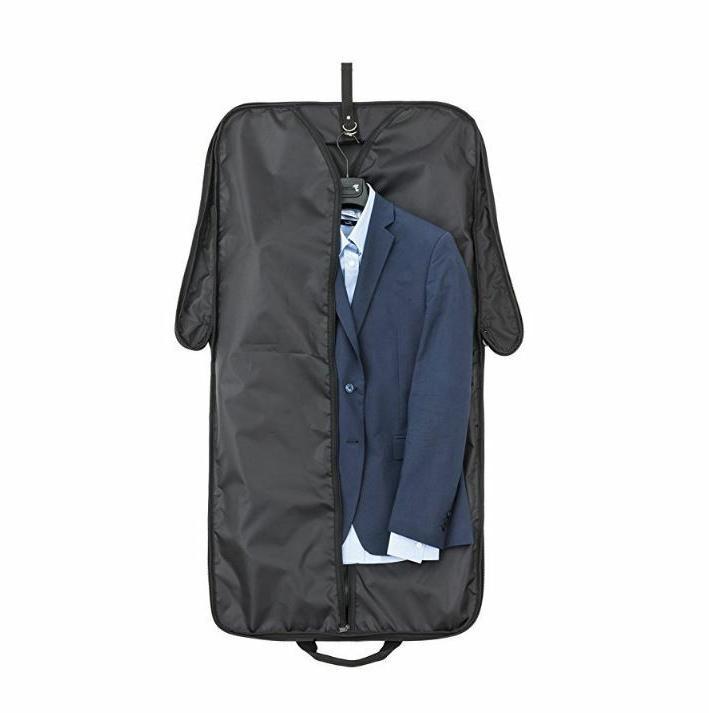 "PROTTONI 44"" Garment Bag With Shoulder Strap - Carry On Suit"