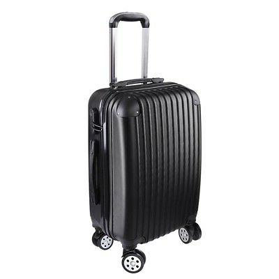 ABS 20 Spinner Traveling Luggage Trolley Suitcase Rolling Ca