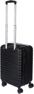 AmazonBasics Spinner Suitcase Carry Black SHIPS FAST