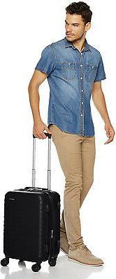 AmazonBasics Suitcase 20-Inch Black