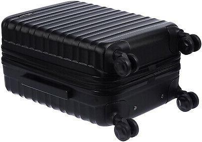 AmazonBasics Suitcase Carry Black SHIPS