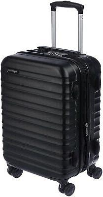 amazonbasics hardside spinner luggage 20 inch black