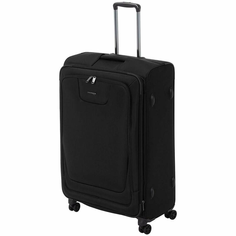 amazonbasics premium expandable softside spinner luggage