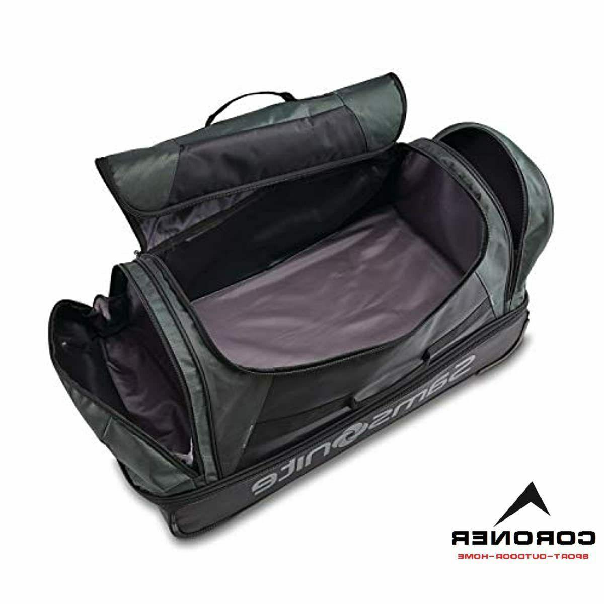 Samsonite Drop Bottom Rolling Bag, Moss