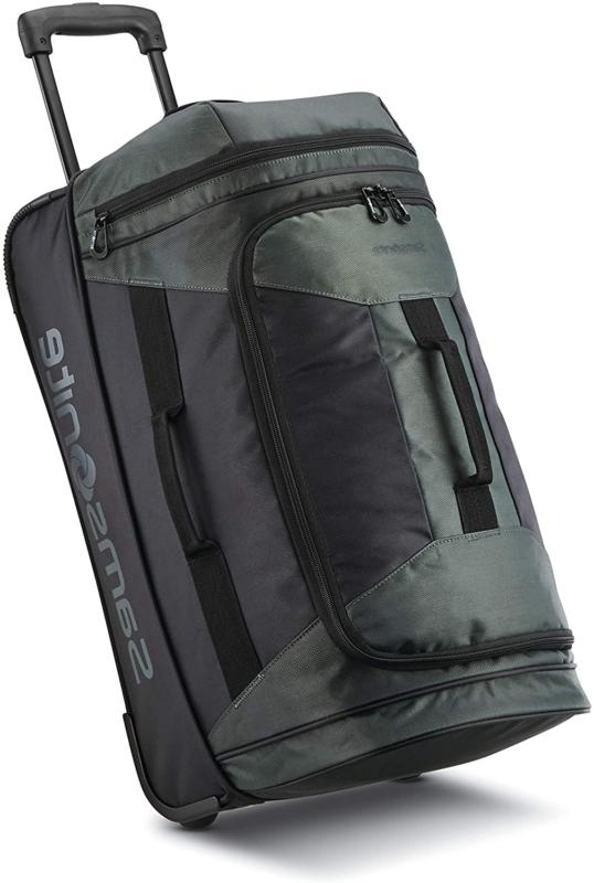 Samsonite Andante 2 Drop Bottom Wheeled Rolling Duffel Bag,